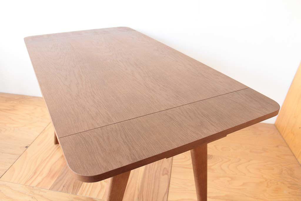 バタフライ式ダイニングテーブル天板