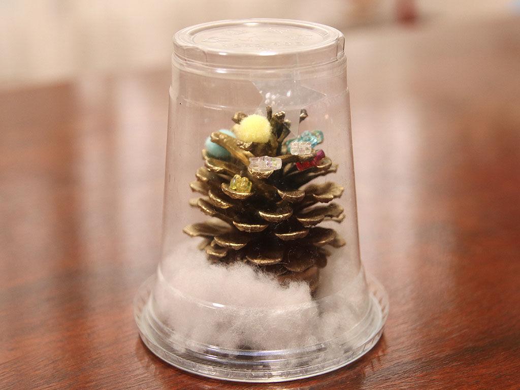 保育園で息子が作ったクリスマスツリーに心ときめく2020年クリスマス