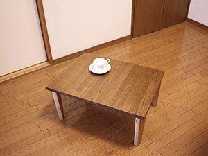 学習机から折りたたみ式コーヒーテーブルにリメイク アイキャッチ