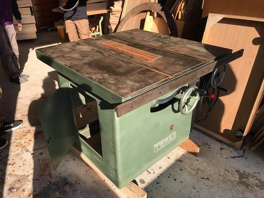 淡路島工房に最近新しく加わった機械