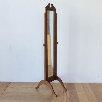 婚礼タンスの鏡をリメイクしたシュバルミラー風姿見