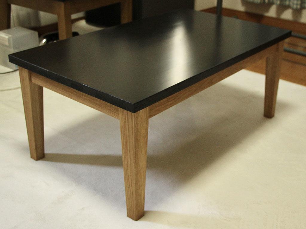 学習机をお客様のライフスタイルに合わせてローテーブルにリメイク