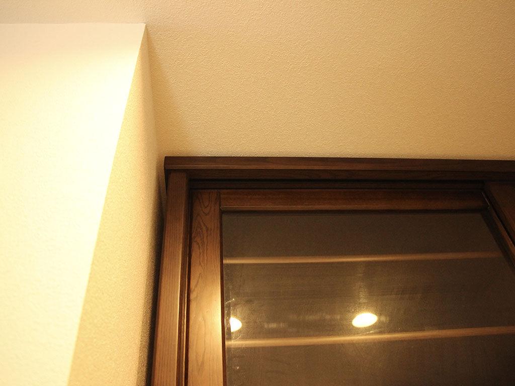 高さアップした食器棚