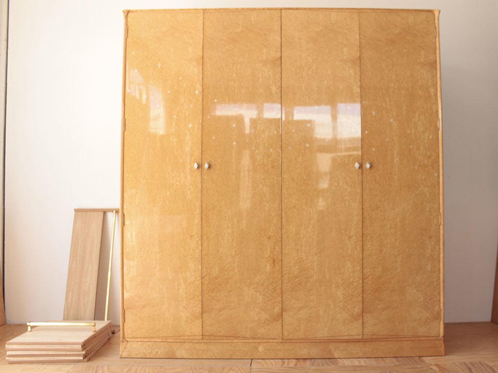 4枚扉から2枚扉へのリサイズをご依頼いただいた婚礼タンス