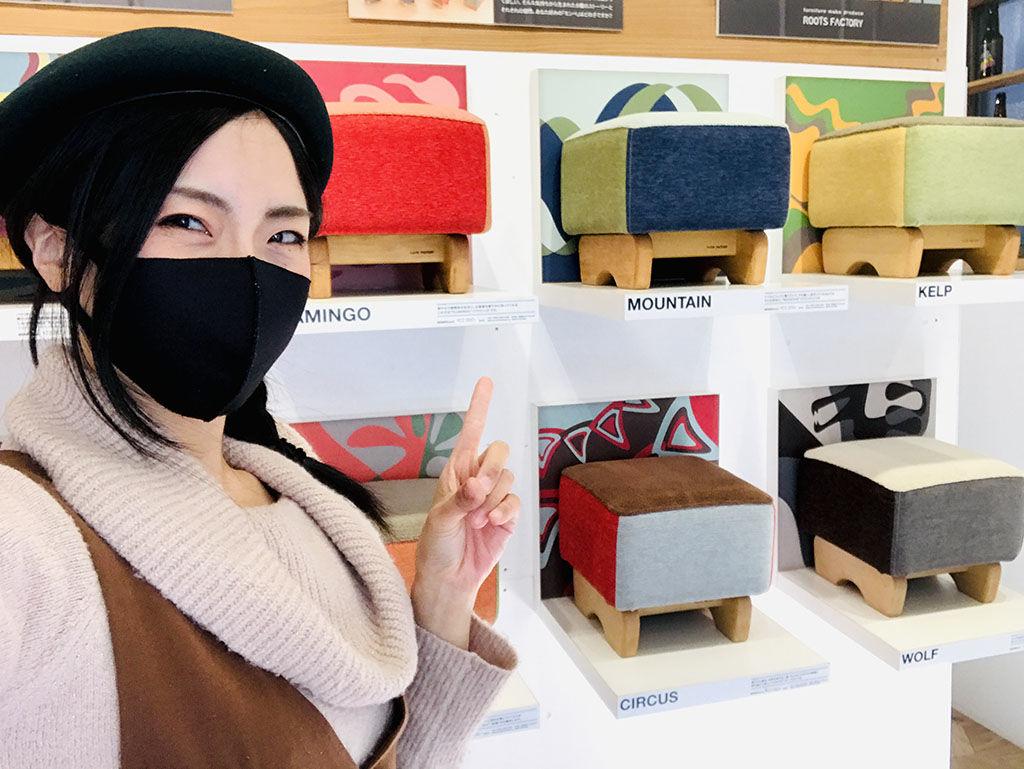 東京店シモキタベースでお店番をするユリマタタ