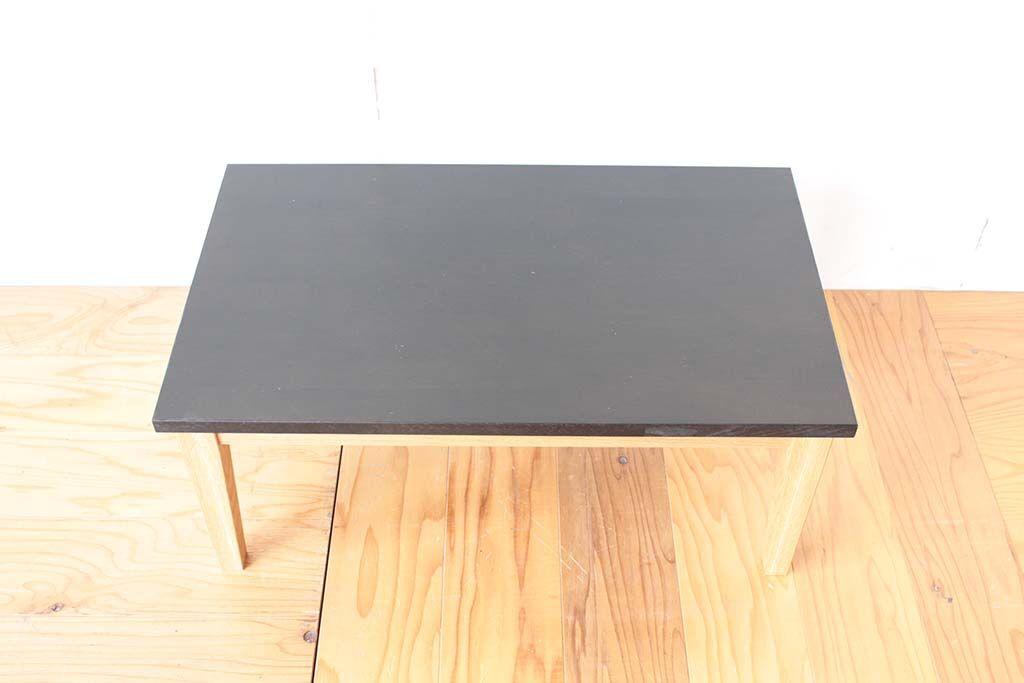 思い出の学習机をローテーブルにリメイク 天板ご希望サイズにカット