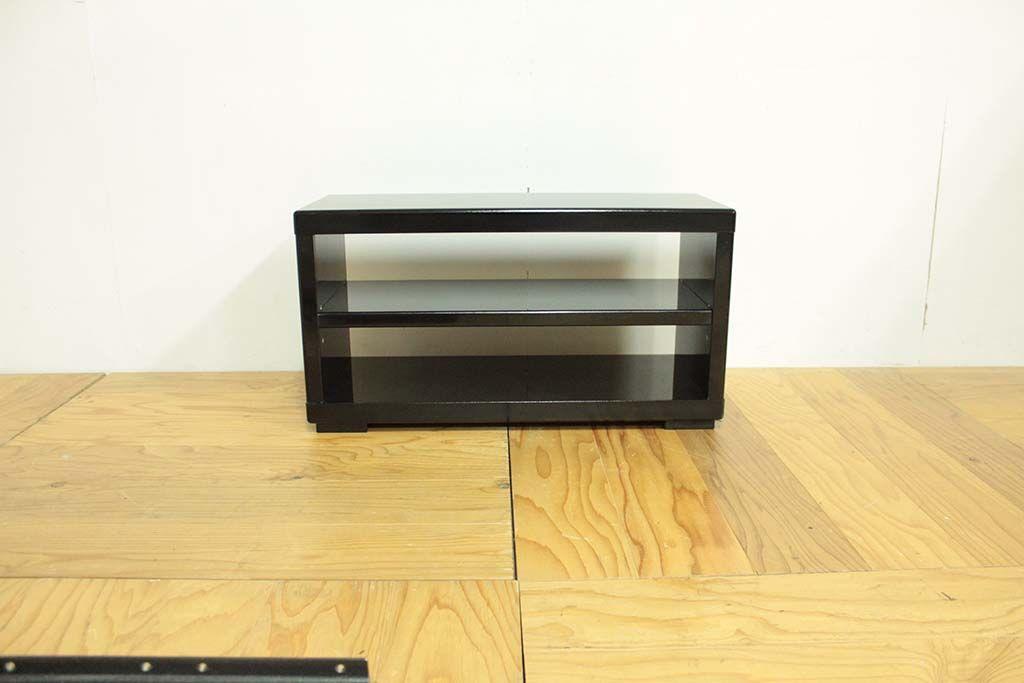婚礼家具鎌倉彫クローゼット扉をテレビボードへリメイク 両面仕上げ