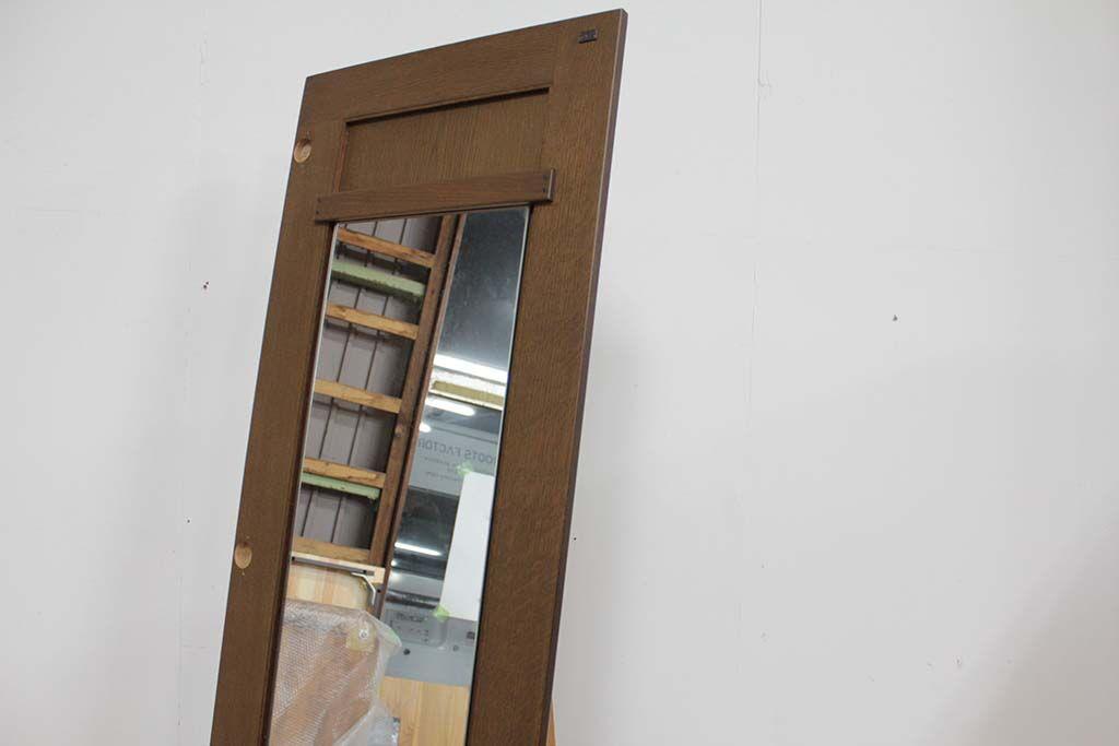 婚礼家具クローゼット扉を姿見にリメイク扉サイズそのまま