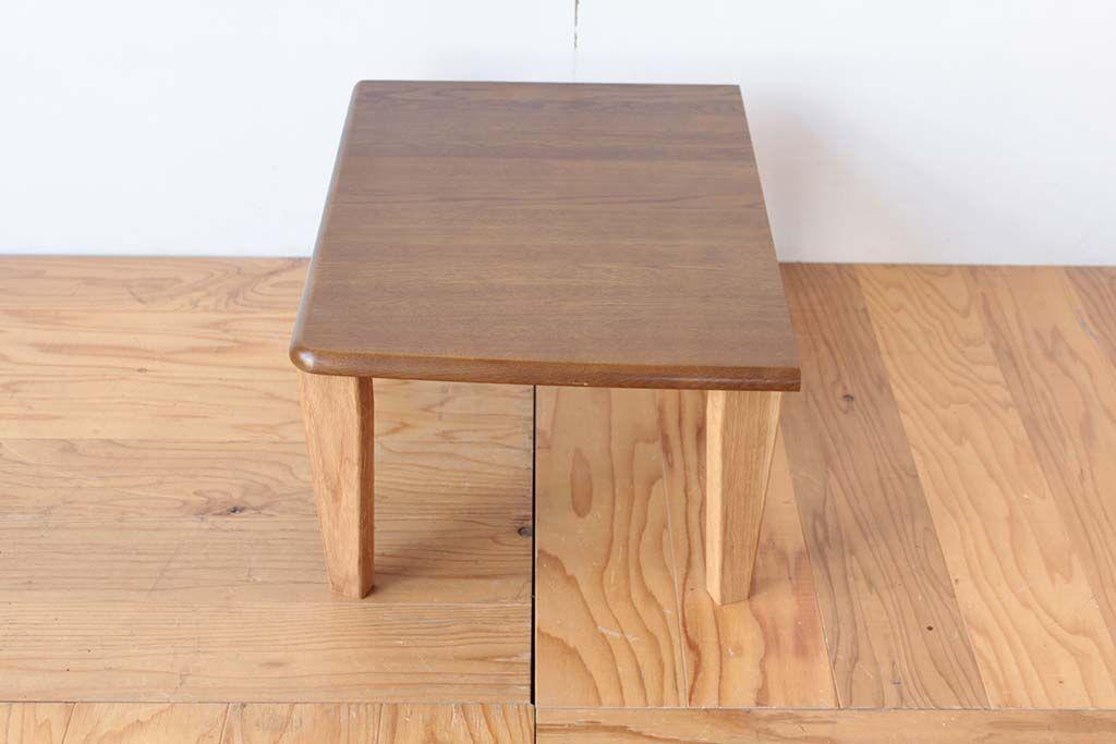 学習机から折り畳みテーブルにリメイク カットしてそのままを使用