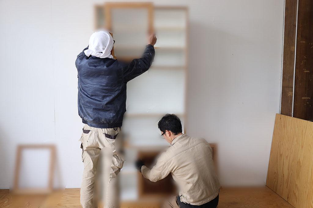 オーダーメイドで作った新居の家具
