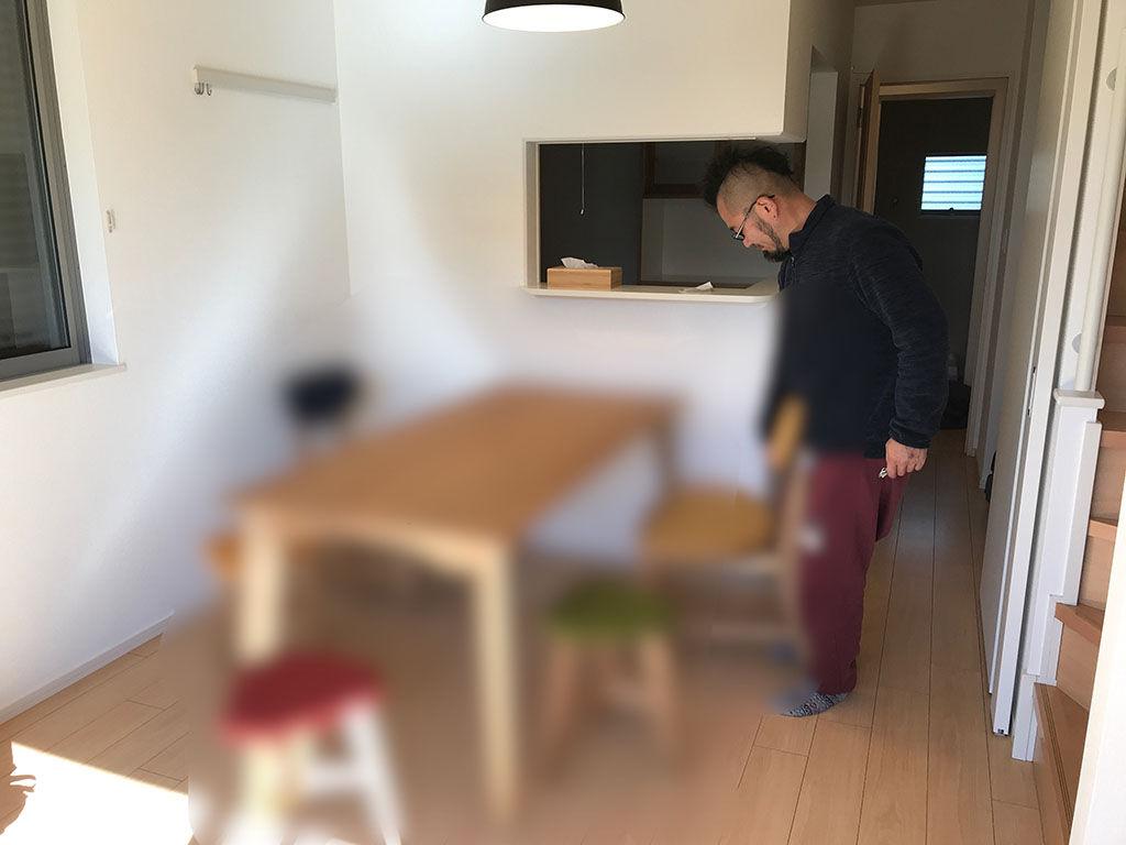 オーダーメイド家具の納品