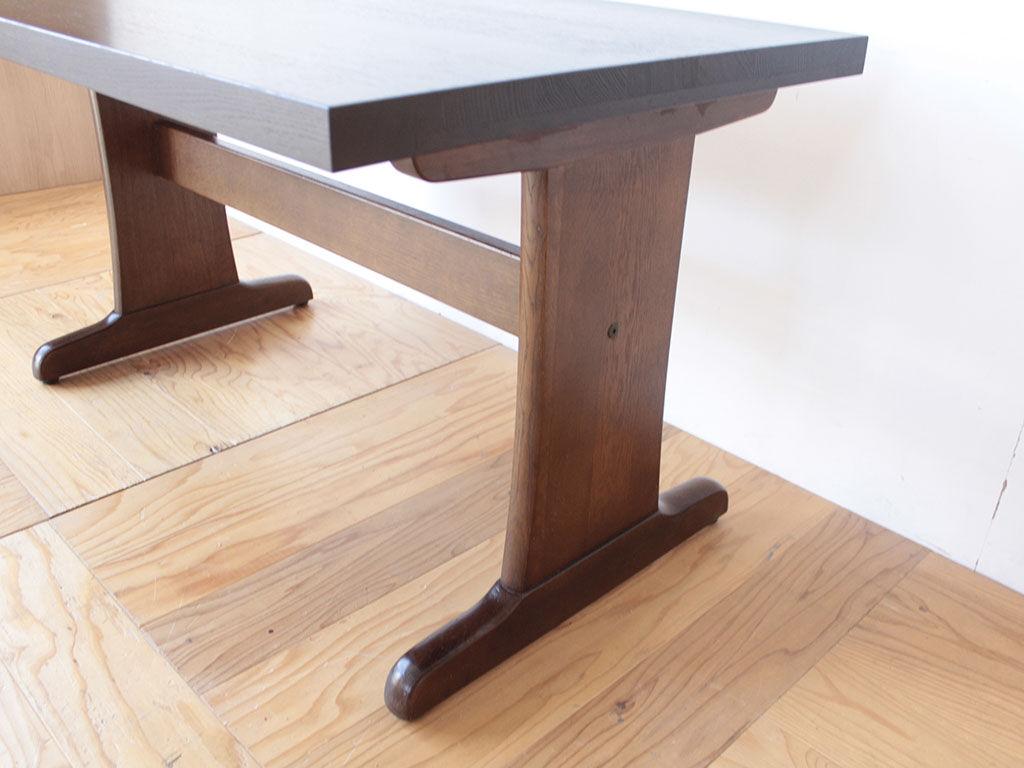 既存の脚を生かしたダイニングテーブルのリメイク