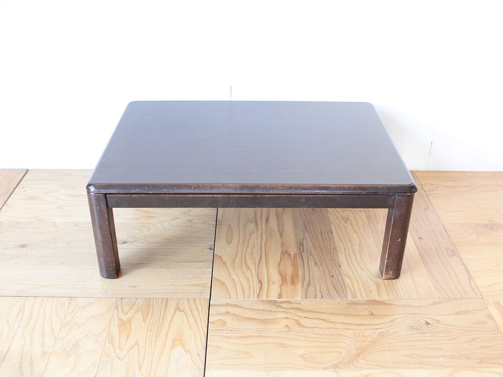 リピートでリメイクのご注文をいただいたこたつテーブル(ビフォー写真)