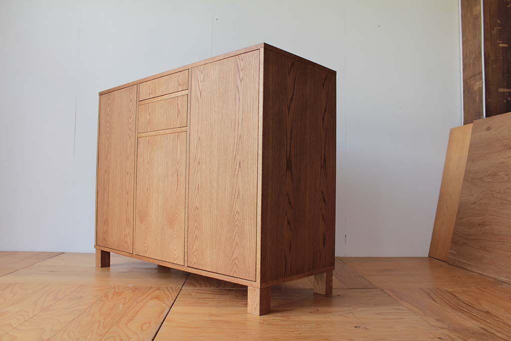 ボトル収納ができるサイドボード 家具オーダーメイド事例:M039
