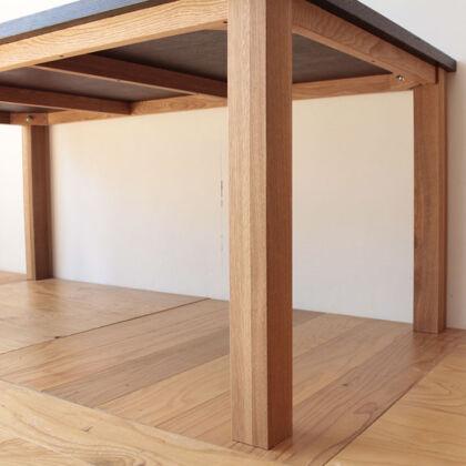 接地点をつなぐと平面でなくなる可能性のある4本脚の家具
