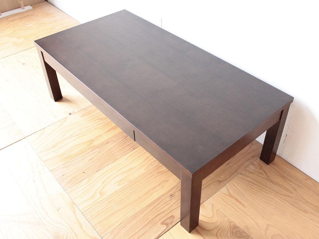 高さリサイズのご依頼をいただいたローテーブル