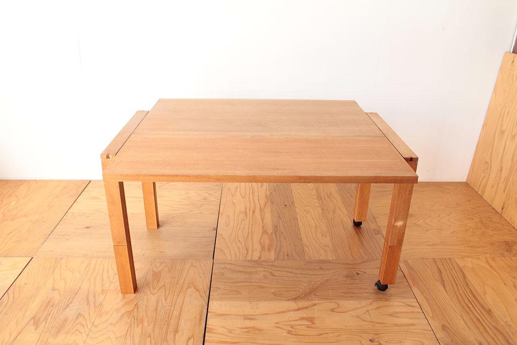 お客様お気に入りの伸縮機能を変わらず使えるようにテーブルリメイク