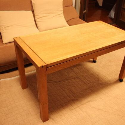 リメイク後お客様に納品させていただいたテーブル
