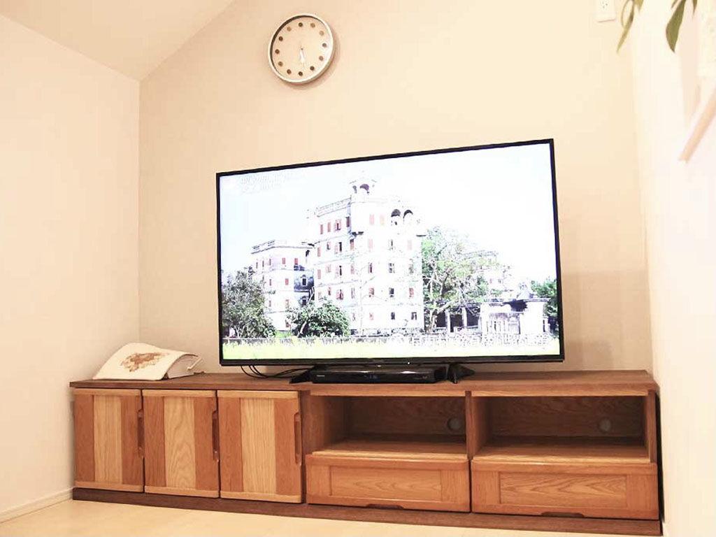 AV機器設置スペースのみオープンタイプのテレビボード