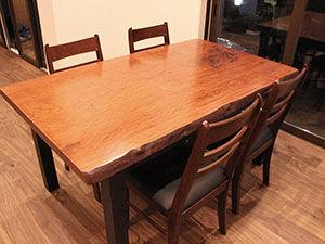 純和風の座卓をモダンなダイニングテーブルにリメイク アイキャッチ