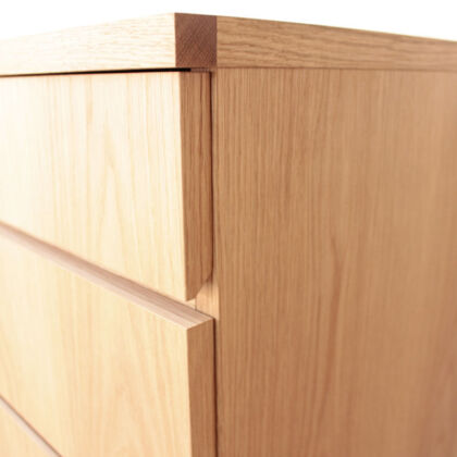 婚礼タンスを構造材に使用してまったく雰囲気の違う家具に仕上げたリメイク事例