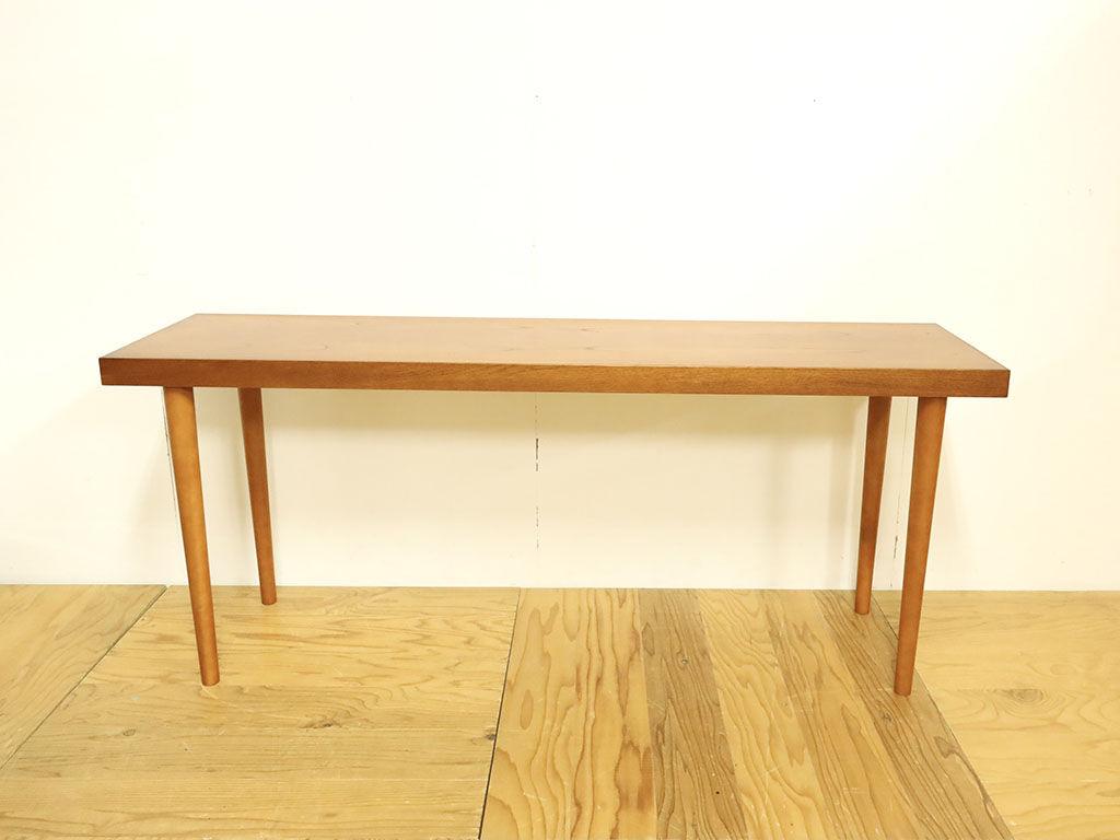 下駄箱の天板を生かしてリメイクしたテーブル