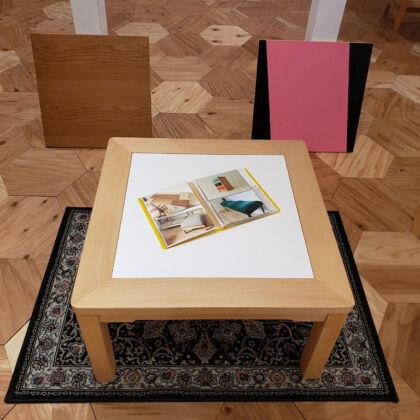 天板を自由に取り替えできる『JYU-NI TABLE』