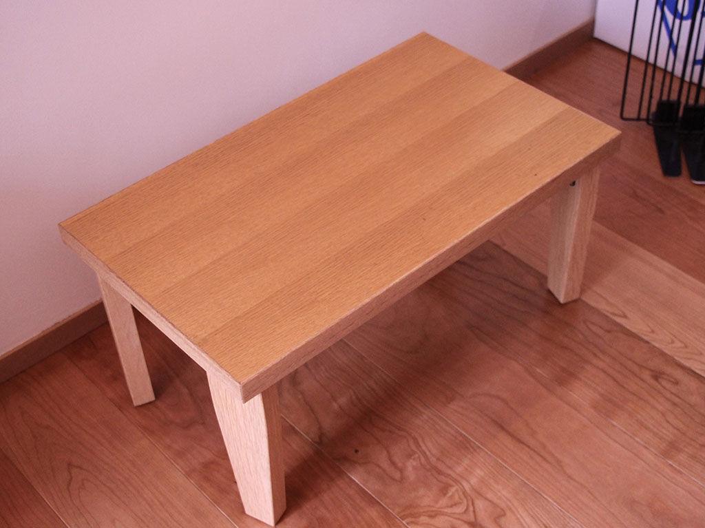 ご新居にリメイク家具を納品するため、お客様から家具をお預かりして約1年後に納品