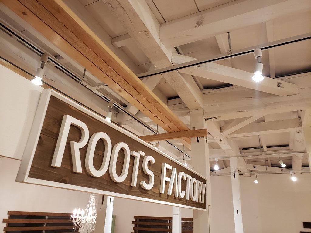 東京店シモキタベースの天井