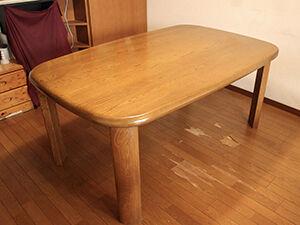 W1900のダイニングテーブルをリサイズ アイキャッチ