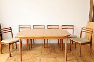 伸縮式ダイニングテーブルをリサイズ&塗装直し アイキャッチ