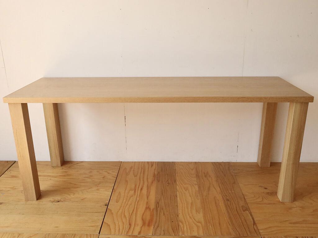 お客様の理想を詰め込んだフルオーダーメイドのダイニングテーブル