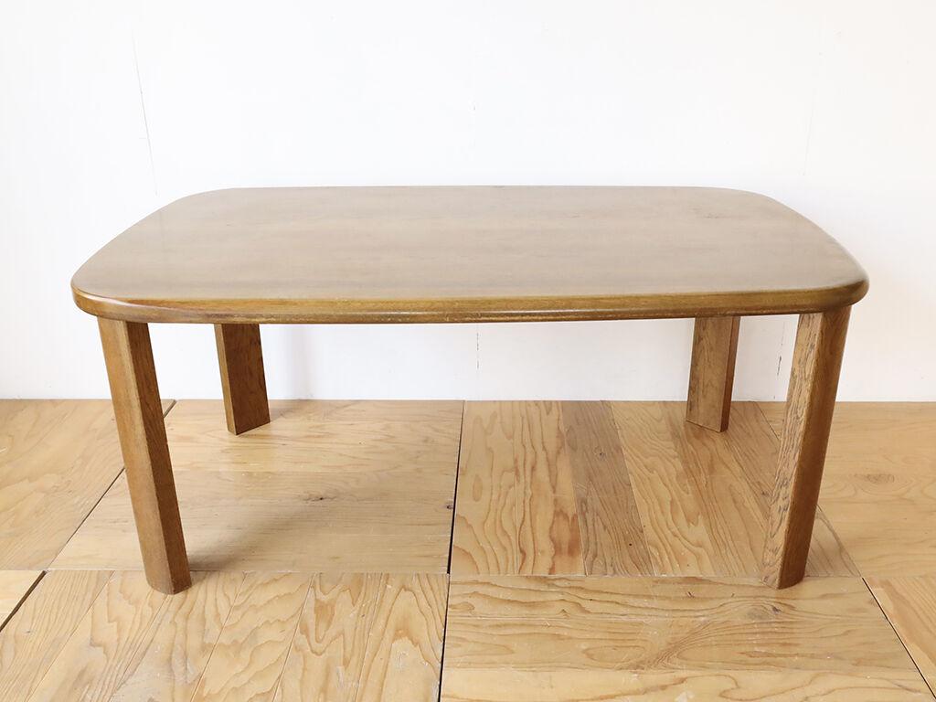 W1900のダイニングテーブルを脚間W1200確保して小さくリサイズ