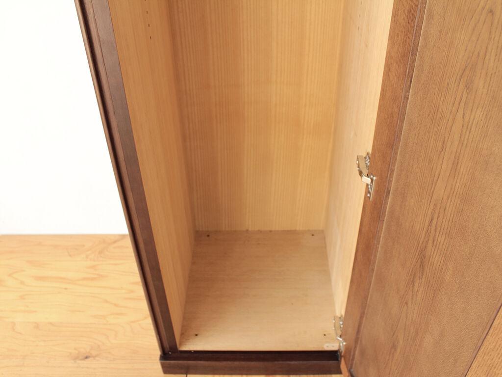 引き戸から開き扉構造に変えた洋服タンス