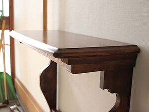 ダイニングテーブルをコンソールテーブルにリメイク アイキャッチ