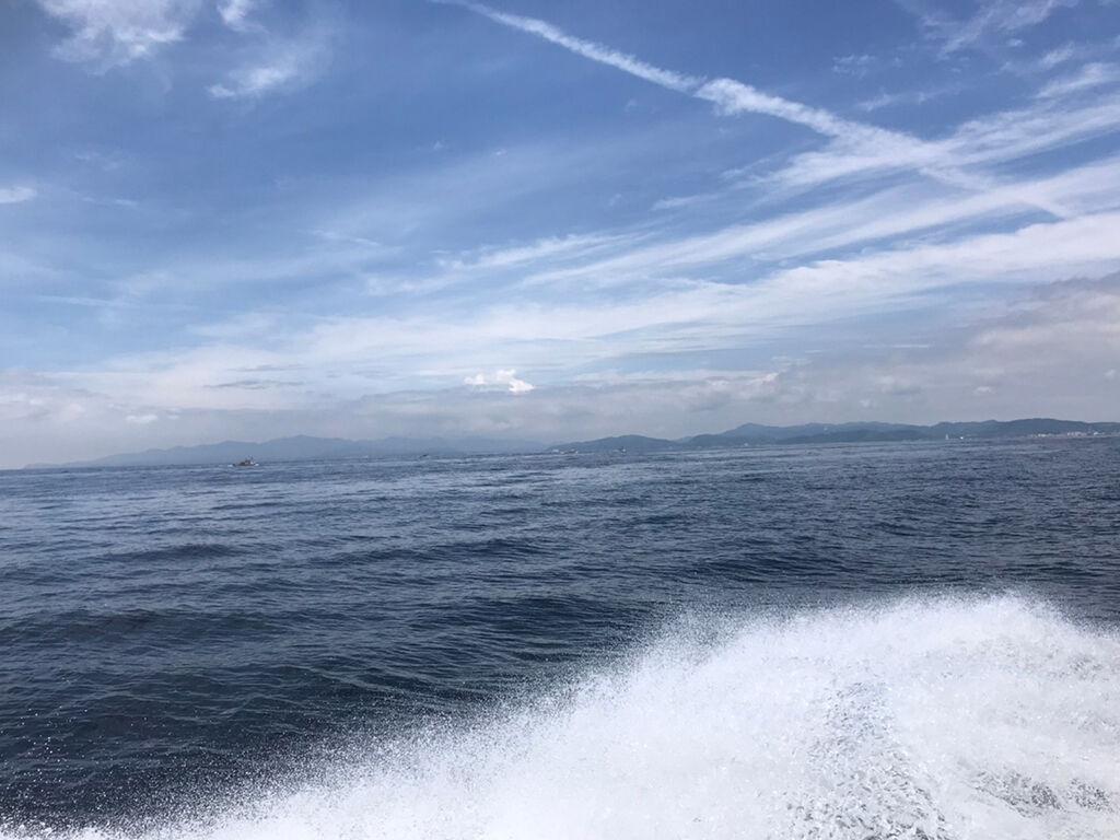 すっかり夏模様の淡路島