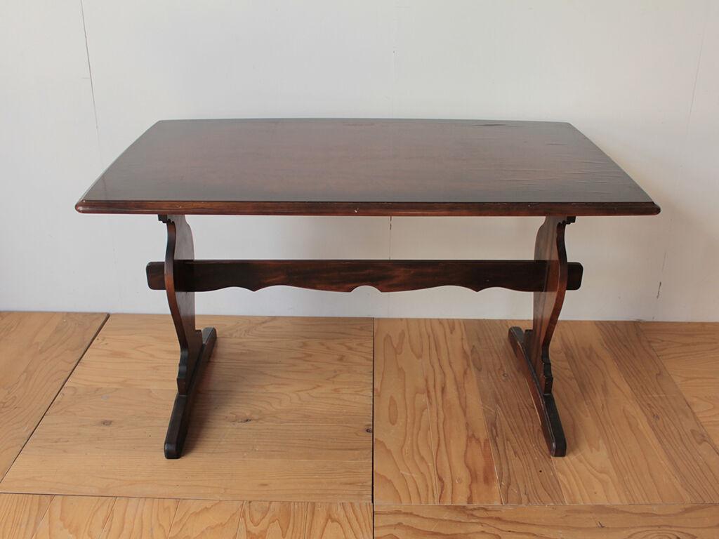 コンソールテーブルへのリメイクをご相談いただいたダイニングテーブル