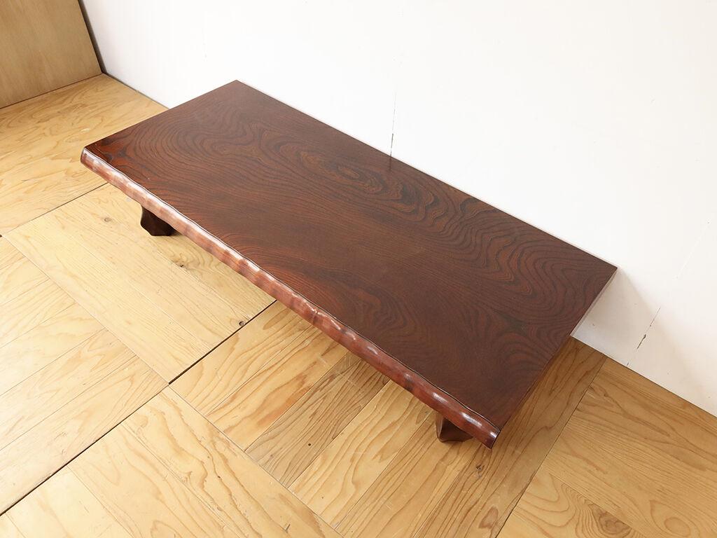 お客様のご新居のスペースに合わせて奥行きをリサイズした座卓