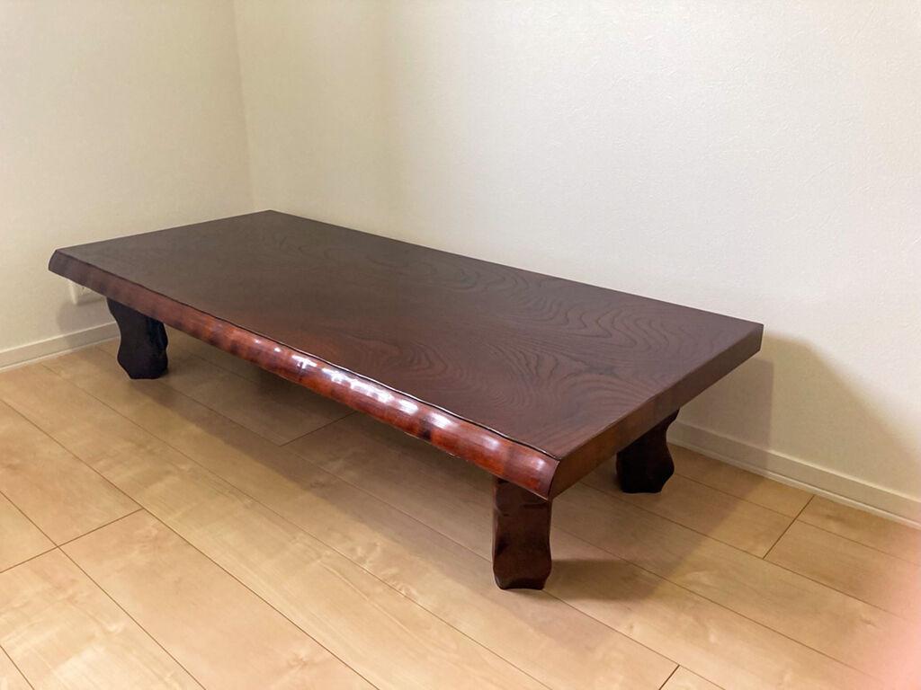 座卓の天板奥行きをリサイズ アイキャッチ