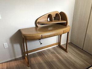 学習机の奥行き&上置き棚の幅リサイズ アイキャッチ