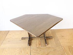 五角形のダイニングテーブルをレストア&高さアップ アイキャッチ