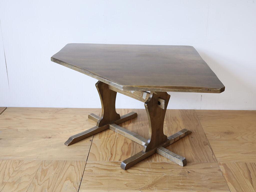 レストア&リメイクのご依頼をいただいた五角形のダイニングテーブル