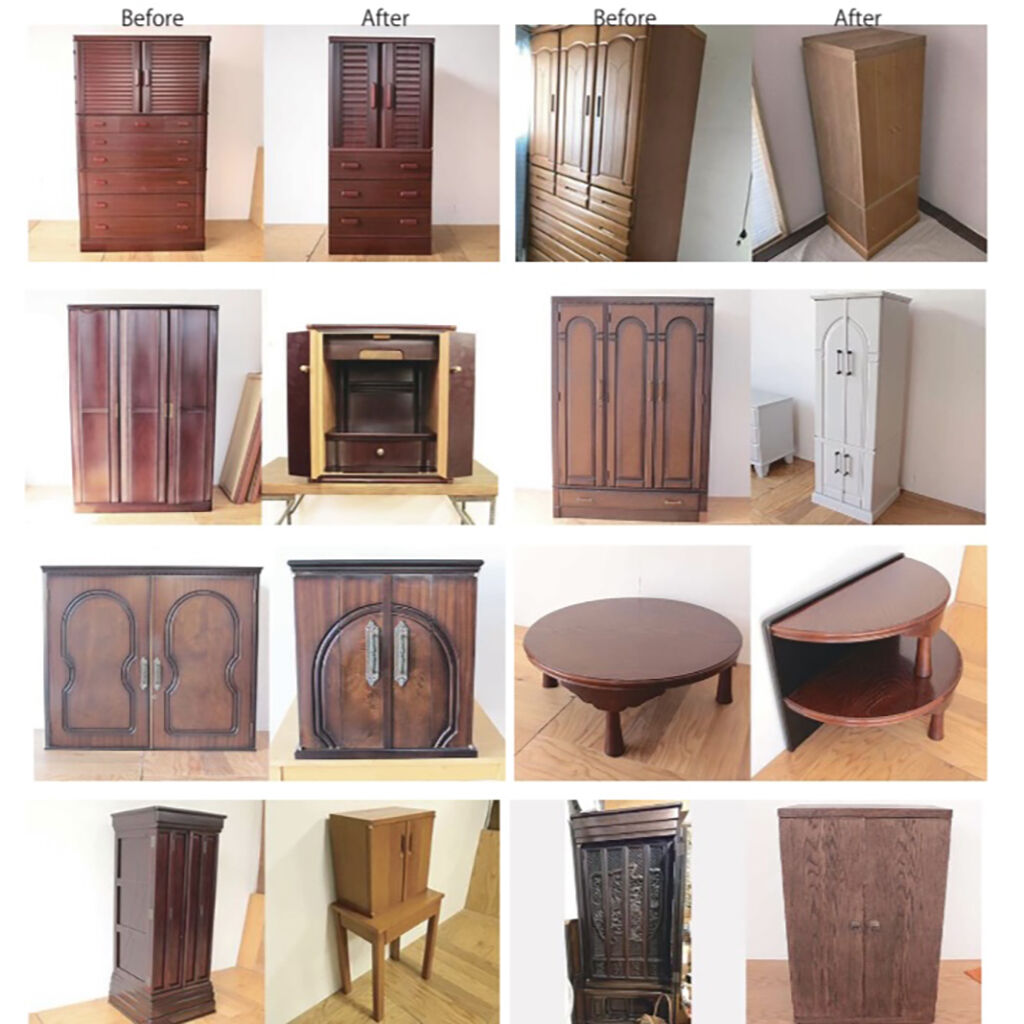 家具からお仏壇へのリメイク事例
