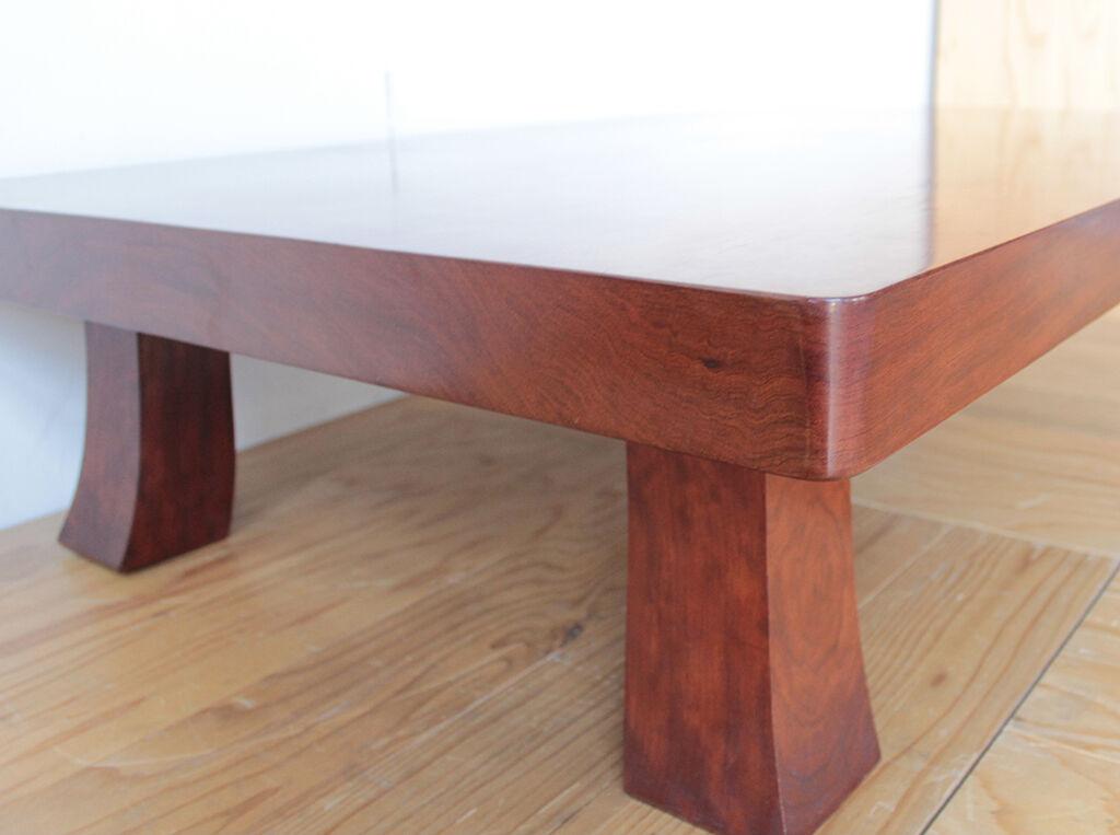 家具リメイクのパンフレットをご覧いただきリメイクをご依頼いただいた座卓