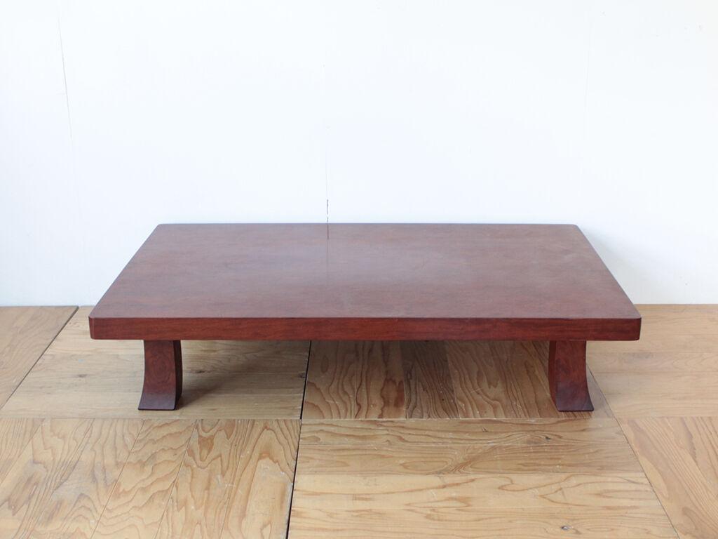 リメイクのご依頼をいただいた無垢ブビンガの座卓