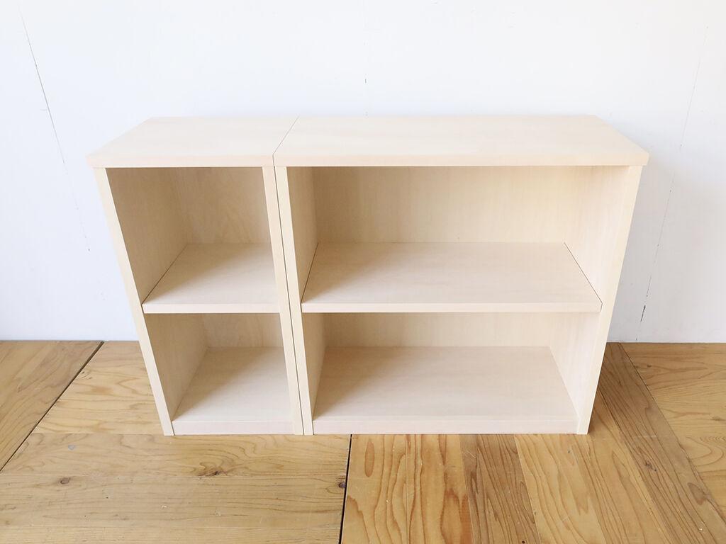 お客様ご指定のサイズで製作したオープン棚